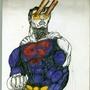 superman mixed technics test by filipejbs