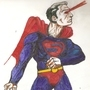 superman mixed technics by filipejbs