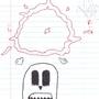 Death Original drawing by Sarnecki