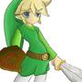 Link by Castlecrasher0