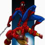Spiderman and Iron Man by RickMarin