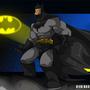 Dark Knight by RickMarin