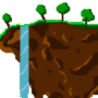 Flying Island (Terraria) by HalfMilk