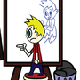 Self Portrait? by JumpingJumpluffs