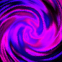 Violet Swirl Galaxy