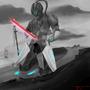 Cyber ninja by TrisketTheBisket