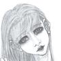 """Girl drawn with """"aesthetic"""" in mind by ttttttttp"""