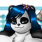 Huan, the cute Panda Girl