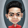 Self Caricature by GioJayEvanglista