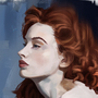 Redhead by SimonT