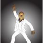 sat night fever chewbacca or Bigfoot by Carlflood