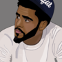 J Cole by Prizzy96