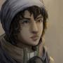 Desert portrait 2 by Blue-Hat-Creature