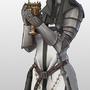 Gothic Warrior Nun