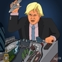 Boris Johnson by andypdm