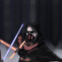 Finn vs. Kylo Ren by Collis529