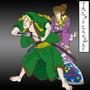 Ukiyo-Zelda by DapperSnake