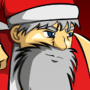 The Santa, The Apprentice Elf and The Reindeer Man by AniLover16