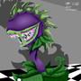 Zombie Plant by GlitchyArtist