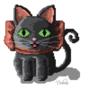 Pixel cat by DoloresC