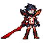 Ryuko fighting game sprite