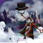 attack of the evil snowmen by TrisketTheBisket