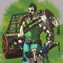 'Junk-Punk' warrior by APass