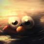 Wet Elmo by kittenbombs1