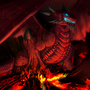 Dragon and a brave soul by APass