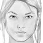 Karlie Kloss Sketch by polhudo