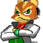 Fox McCloud [pixel] by HalfMilk