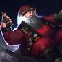 Epic Santa brings metal! by Typhonart