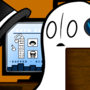 Boo Napstablook by DigitalColdI
