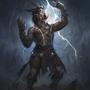 Shaman of Thunders by Typhonart