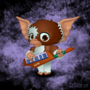 Gizmo on the Keytar by calslater