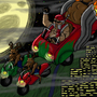 Epic Biker Santa