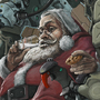 Epic Santa by Giedrius