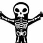 Halloween skeleton by DubstepShadow