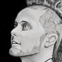 Jared Leto B&W by XavierStarr