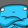 Mr. BlueMan by asiandudewithglasses