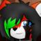 Red panda girl