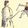 Samurai Study by Darthcrane