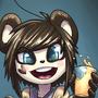 Party Panda by draneas