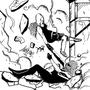 alternate earth - spidey gwen sketches by darkatlas
