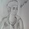 Self Portrait Drawing [99E]