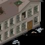 Pixel art iso barracks by Ransom00