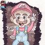 Mario by TheWeirdKidThatDraws