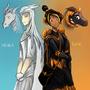 Nora and Reni by Kiabugboy