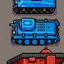 pixel war vehicles by UltimoGames