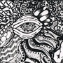 Zentangle Eyeball by ArtByEyeBall